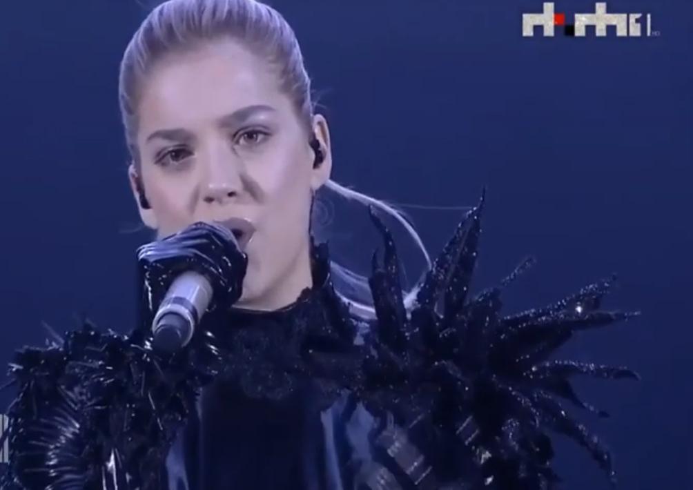 Arilena Ara represents Albania in Rotterdam