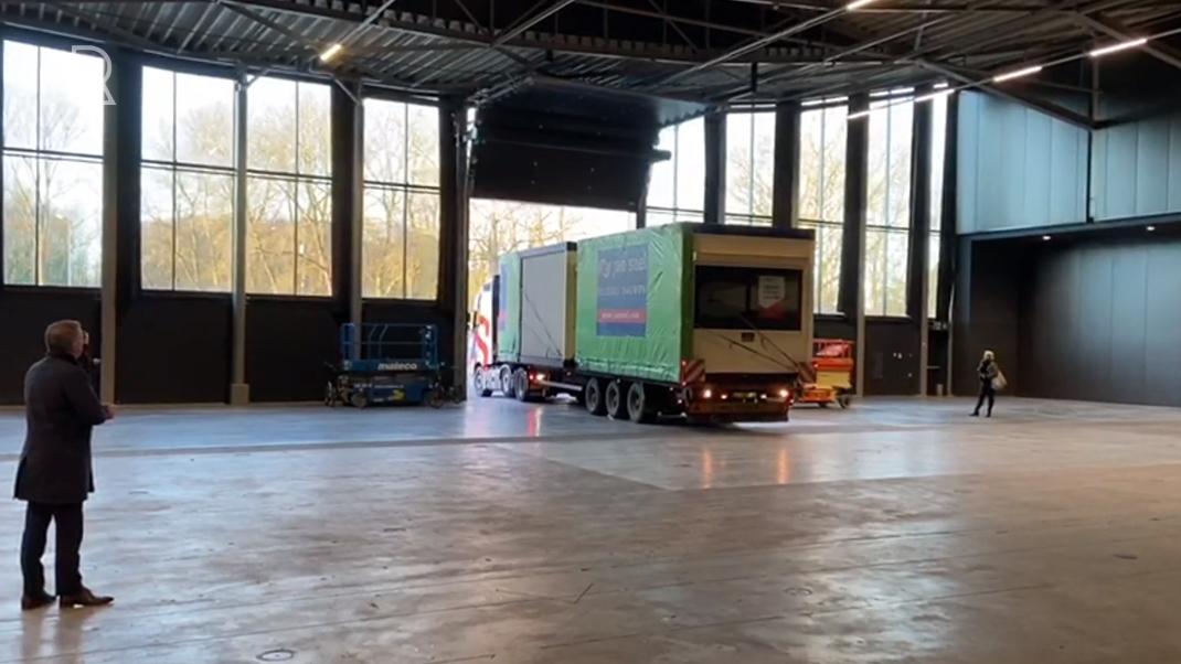 Ahoy Rotterdam temporary care location!