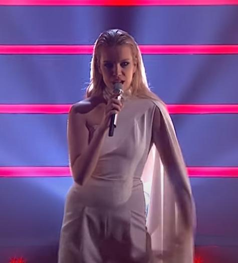 "Ana Soklič to sing ""Amen"""